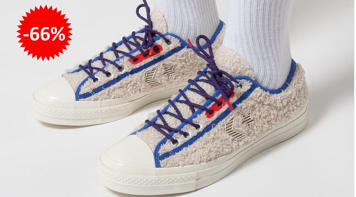 Zapatillas unisex Converse Retro Sherpa baratas, calzado de marca barato, ofertas en zapatillas chollo