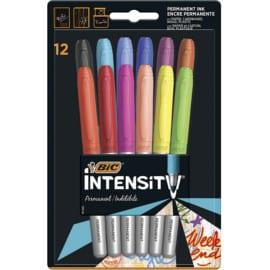 12 rotuladores BIC Intensity baratos. Ofertas en material de oficina, material de oficina barato