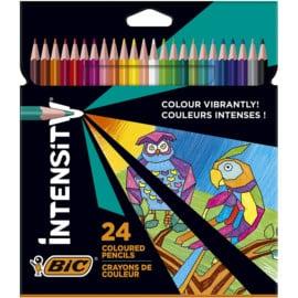 24 Lápices de colores BIC Intensity baratos. Ofertas en lápices de colores, lápices de colores baratos