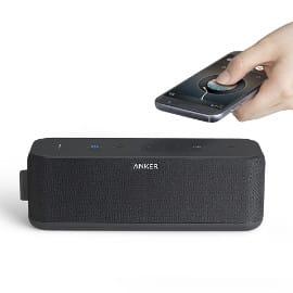 ¡¡Chollo!! Altavoz Bluetooth Anker SoundCore Boost sólo 49.99 euros. 50% de descuento.