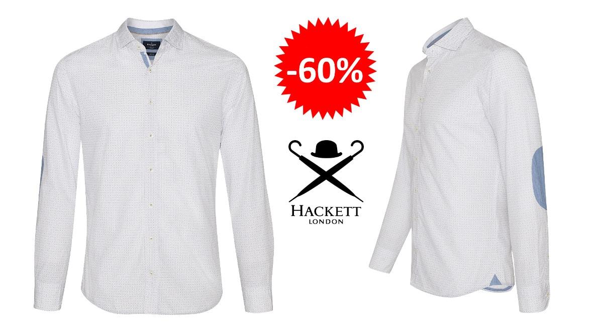 Camisa Hackett London Mini Target barata, ropa de marca barata, ofertas en camisas chollo