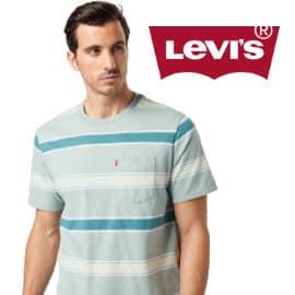 Camiseta Levi's Pocker Sunset barata, ropa de marca barata, ofertas en camisetas