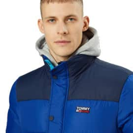 Chaqueta Tommy Jeans Corp azul barata, ropa de marca barata, ofertas en chaquetas