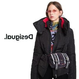 Chaqueta acolchada Desigual barata, ropa de marca barata, ofertas en ropa de abrigo