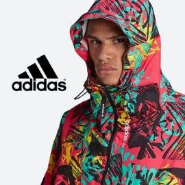 Chaqueta cortavientos Adidas Adventure Mesh barata, ropa de marca barata, ofertas en chaquetas