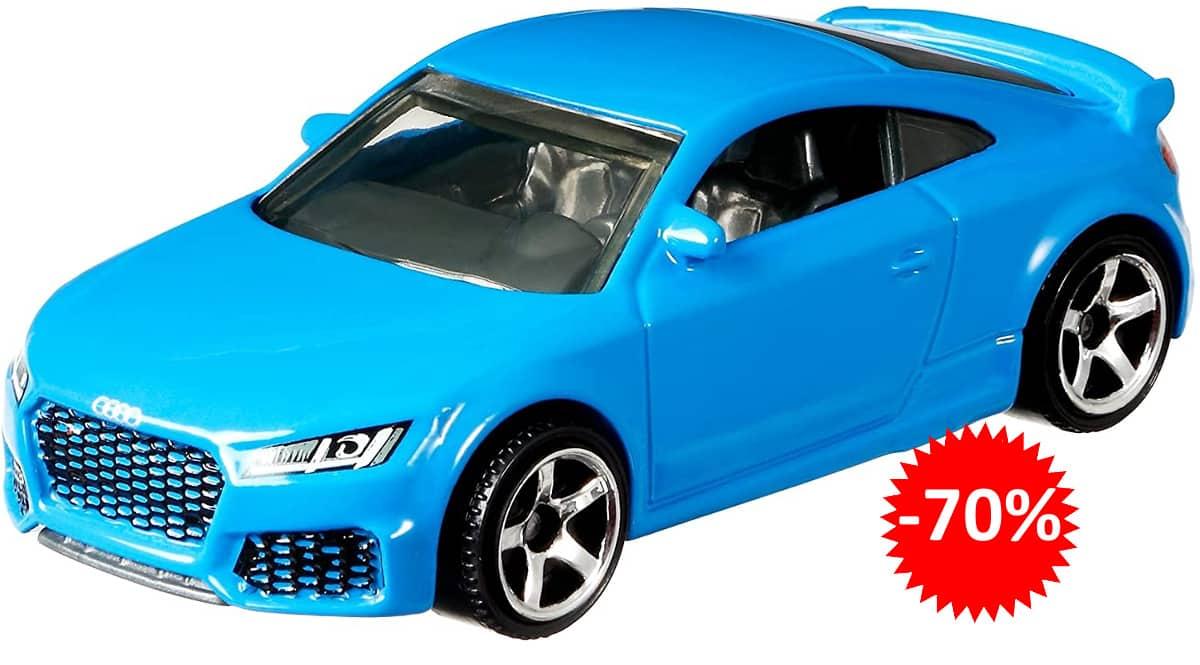Coche de juguete Matchbox Audi TT RS Coupe barato, coches de juguete baratos, ofertas para niños, chollo