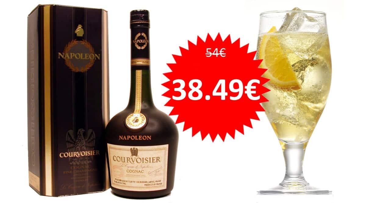 Coñac Courvoisier Napoleon barato. Ofertas en bebidas premium, bebidas premium baratas, chollo