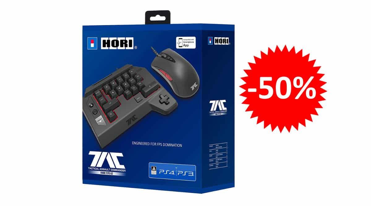 ¡Precio mínimo histórico! Controlador Hori Tactical Assault Commander 4 para PS4/PC sólo 49.97 euros. 50% de descuento.