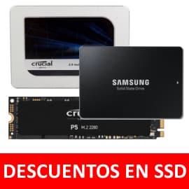 Descuentos en discos SSD en Coolmod. Ofertas en discos SSD, discos SSD baratos