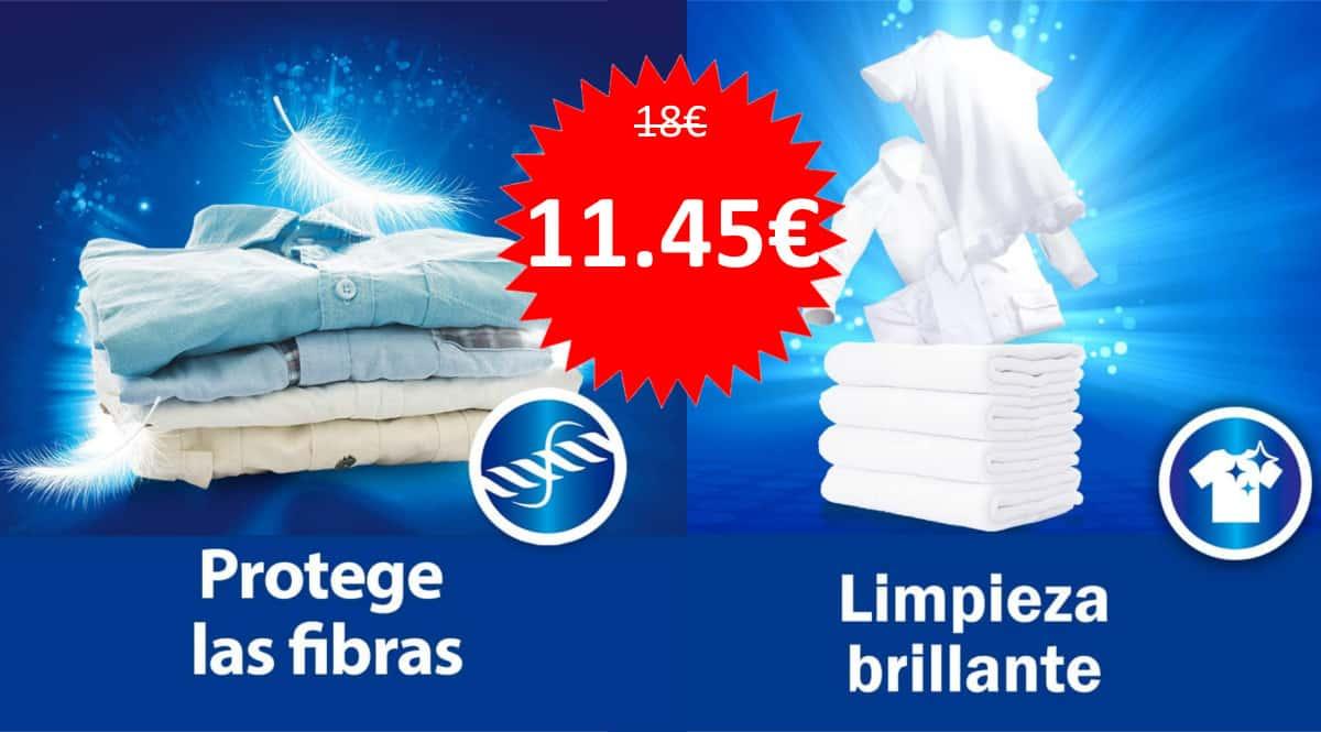 Detergente Wipp Express de 80 dosis barato. Ofertas en supermercado, chollo