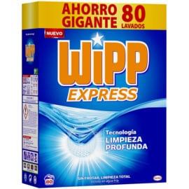 Detergente Wipp Express de 80 dosis barato. Ofertas en supermercado
