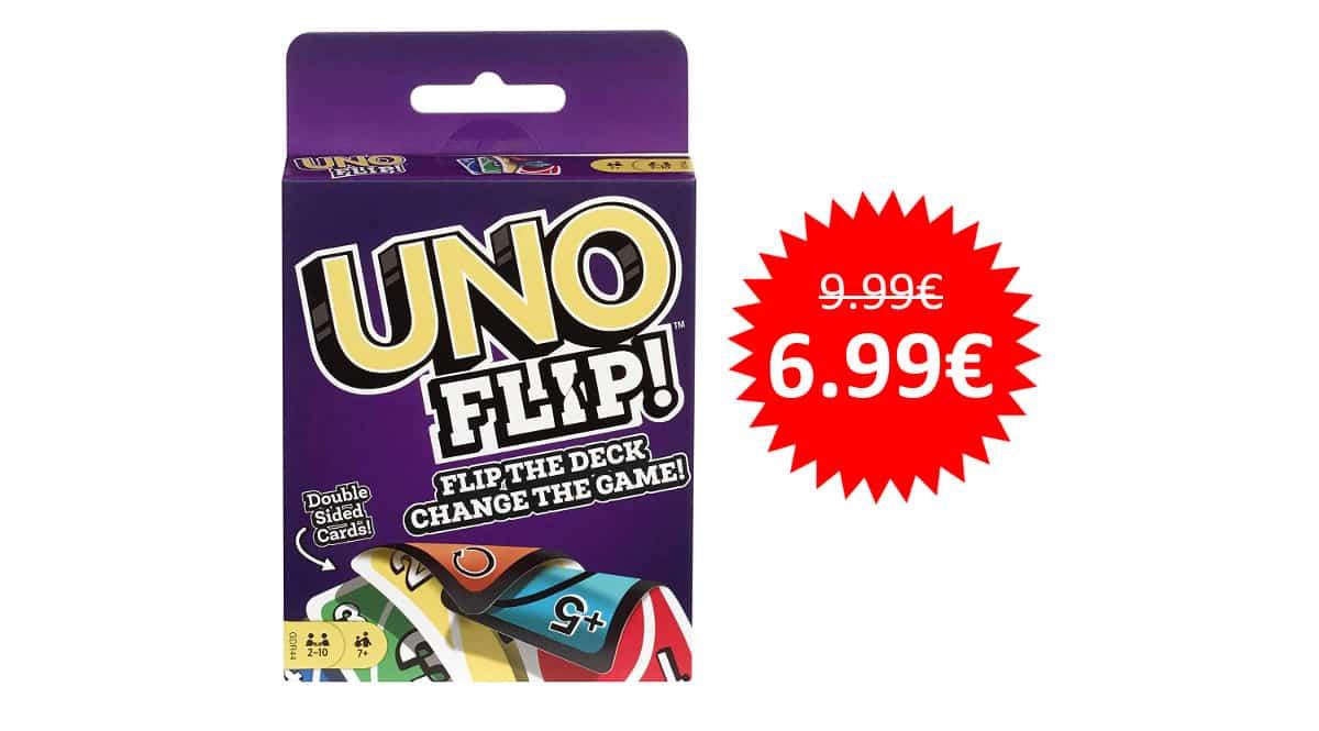 ¡¡Chollo!! Juego UNO Flip sólo 6.99 euros.
