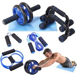 ¡Cupón descuento! Kit de 6 piezas de equipo para fitness Lixada sólo 15.98 euros. Mitad de precio. Disponible en 3 colores.