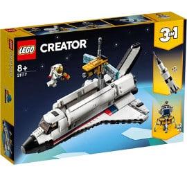 ¡Precio mínimo histórico! LEGO Creator 3 en 1 Aventura en Lanzadera Espacial sólo 38 euros.