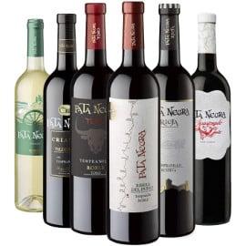 ¡Precio mínimo histórico! Pack de 6 botellas de vinos Pata Negra con D.O. sólo 20.94 euros.