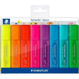 ¡Precio mínimo histórico! Pack de 8 marcadores fluorescentes Staedtler Textsurfer Classic 364 sólo 3.67 euros. 50% de descuento.