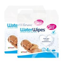 Pack toallitas Waterwipes baratas, toallitas para bebé de marca baratas, ofertas para niños