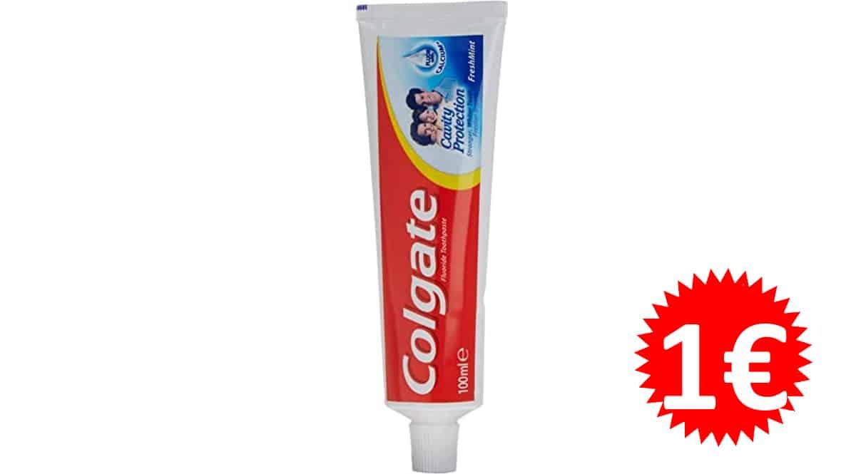 Pasta de dientes Colgate Cavity Protection barata, pastas de dientes de marca baratas, ofertas supermercado, chollo
