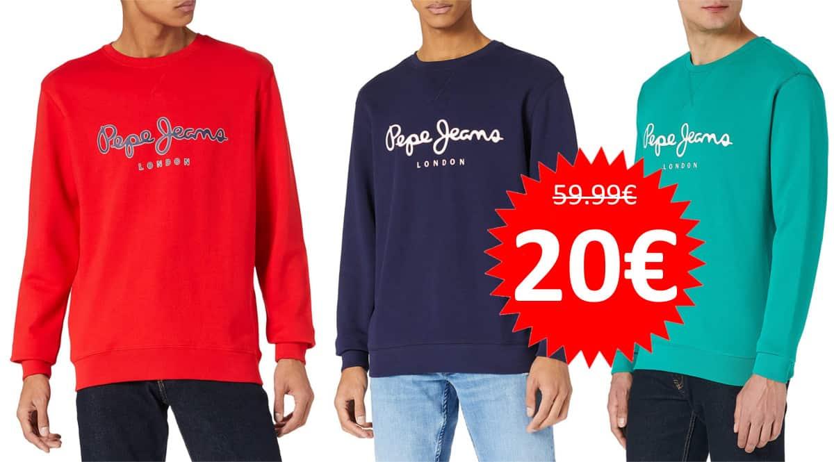 Sudadera Pepe Jeans George 2 barata. Ofertas en ropa de marca, ropa de marca barata, chollo