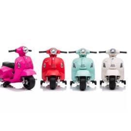 Vespa eléctrica para niños barata, juguetes de marca baratos, ofertas para niños